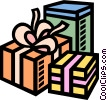 presents Vector Clip Art image