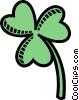 clover Vector Clip Art graphic