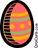 Vector Clipart illustration  of a Easter egg