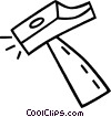 Vector Clipart picture  of a hammer