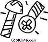 screws Vector Clipart picture