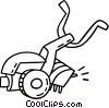 aeration machine Vector Clip Art picture