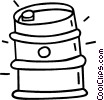 Vector Clipart graphic  of a oil drum