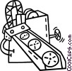 Vector Clipart graphic  of a conveyor belt