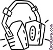 ear protection Vector Clipart picture