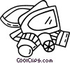 safety mask Vector Clipart picture