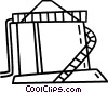 barns and farming Vector Clipart image