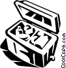 Vector Clipart image  of a cooler