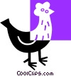 chicken Vector Clipart illustration