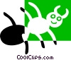ant Vector Clipart illustration