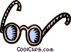 Vector Clipart image  of a glasses