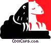 Ground hog Vector Clipart picture