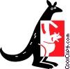 kangaroo Vector Clip Art picture