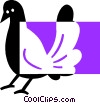 pigeon Vector Clipart picture