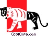 tiger Vector Clip Art graphic