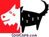 dog Vector Clipart picture