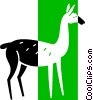 deer Vector Clipart graphic