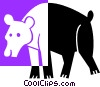 bear Vector Clip Art graphic