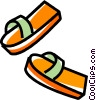 sandals Vector Clip Art picture