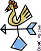 Vector Clipart picture  of a weathervane