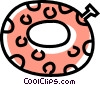 Vector Clipart picture  of a pool toy