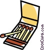 matches Vector Clipart picture