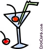 mixed drink Vector Clip Art graphic
