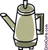 coffee pot Vector Clipart picture
