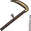 Vector Clipart graphic  of a scythe