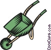 wheelbarrow Vector Clip Art picture