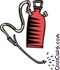 Vector Clip Art image  of a fertilizer