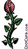 Vector Clip Art graphic  of a exotic plants