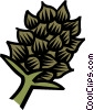 Vector Clipart picture  of a exotic plants