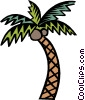 palm tree Vector Clipart graphic