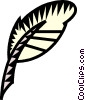 Vector Clipart graphic  of a feather pen