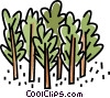 forest, trees Vector Clipart graphic