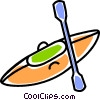kayak Vector Clip Art picture