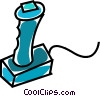 computer joystick Vector Clipart illustration