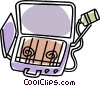 Vector Clipart graphic  of a propane camping stove