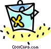 Vector Clipart graphic  of a pail