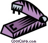 Vector Clipart illustration  of a stapler