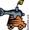 cannon Vector Clipart image