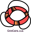life ring Vector Clip Art picture
