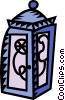 Vector Clipart image  of a telephone booth