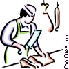 Butchers Vector Clipart illustration