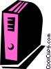Vector Clip Art picture  of a binder