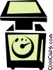 Vector Clipart graphic  of a scale