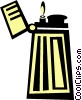 lighter Vector Clip Art graphic