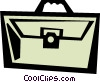 briefcase Vector Clipart illustration