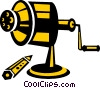pencil sharpener Vector Clipart illustration